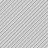 Diagonal lines seamless repeatable pattern. Oblique, slanting li. Nes grayscale pattern / texture. - Royalty free vector illustration Royalty Free Stock Photo