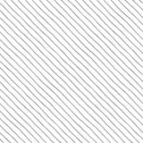 Diagonal lines with a small gap. Seamless pattern. Thin diagonal lines with a small gap, hand-drawn Stock Photo