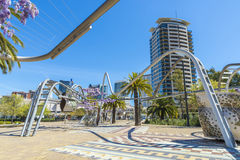 Diagonal Mar Park, Barcelona Royalty Free Stock Images