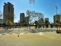 Diagonal Mar Park, Barcelona Royalty Free Stock Photography