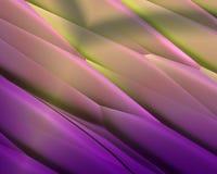 diagonal metallisk purpur bandtexturyellow Arkivbilder