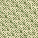 Diagonal money background. Paper dollars background. Finance and banks, savings and investments. Flat vector cartoon illustration. Objects  on a white background Royalty Free Stock Photo