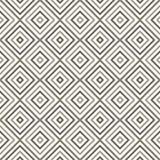 Diagonal monocromática geométrica sem emenda abstrata Imagens de Stock Royalty Free