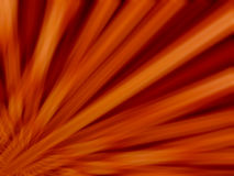 Diagonal orange sun rays motion blur background Stock Image