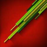Diagonal Overlapped Stripes - Red Velvet Royalty Free Stock Photo