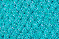 Diagonal pattern knitting wool Stock Image
