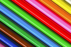 Diagonal Pencils Royalty Free Stock Photos