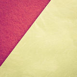 Diagonal pink and yellow background Stock Image