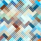 Diagonal plaid background Royalty Free Stock Image