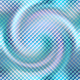 Diagonal plaid pattern on blur spiral background. Stock Photos