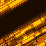 Diagonal rectangles background. Abstract diagonal orange intersecting rectangles background. Eps10 file Royalty Free Stock Photography