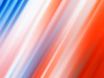 Diagonal red and blue lines bokeh background Stock Image