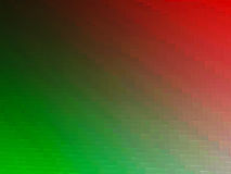 Diagonal red and green 3d blocks texture background Royalty Free Stock Photos