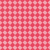Diagonal red seamless fabric texture pattern Stock Photography