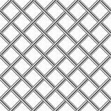 Diagonal sömlös bakgrund för Chrome metallraster royaltyfri illustrationer