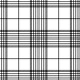 Diagonal sömlös textur för monokromt tyg Arkivbilder