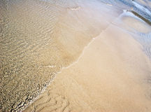 Diagonal of sand Stock Photos