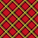 Diagonal seamless fabric pattern mainly in red Stock Images