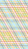 Diagonal Seamless Flannel Pattern Royalty Free Stock Photo