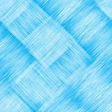 Diagonal seamless pattern with grunge striped intersect rectangular elements in blue and white colors. For web design Royalty Free Stock Images