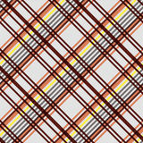 Diagonal seamless pattern in warm colors Stock Images