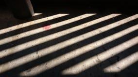 Diagonal shadows Stock Image