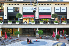 Diagonal Shopping centre in Barcelona, Spain Royalty Free Stock Image