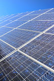 Diagonal solar panel Royalty Free Stock Photos