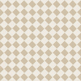 Diagonal square beige seamless fabric texture pattern Royalty Free Stock Photo