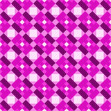 Diagonal Squares Chess Seamless Pattern Royalty Free Stock Photography