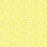 Diagonal squares pattern seamless yellow background Stock Image