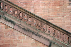 Diagonal staircase Royalty Free Stock Photography