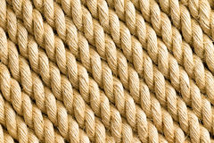 Diagonal strands of rope as background Royalty Free Stock Images