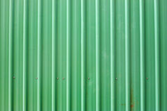 Green Metal Tile House Roof As Texture Stock Photo Image