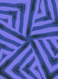 Diagonal Striped Pattern Blue Royalty Free Stock Image