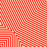 Diagonal striped red white pattern. Abstract repeat straight lines texture background. Royalty Free Stock Image