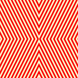 Diagonal striped red white pattern. Abstract repeat straight lines texture background. Vector illustration Royalty Free Stock Photo