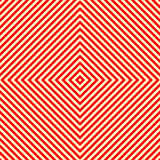 Diagonal striped red white seamless pattern. Abstract repeat straight lines texture background. Vector illustration Royalty Free Stock Images