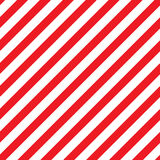 Diagonal Stripes. Diagonal red and white stripes are featured in an abatract background ilustration Royalty Free Stock Images