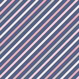 Diagonal stripes abstract background. Thin slanting line wallpaper. Seamless pattern with classic motif. Royalty Free Stock Photography
