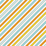 Diagonal stripes abstract background. Thin slanting line wallpaper. Seamless pattern with classic motif. Stock Images
