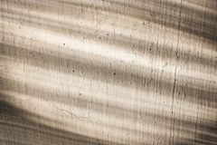 Diagonal stripes of light and shade to old plastered surfaces. Royalty Free Stock Image