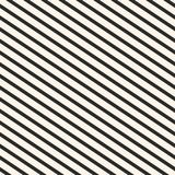 Diagonal stripes pattern. Vector seamless striped texture. Geometric background. Stock Photography
