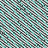 Diagonal stripes seamless pattern Stock Photos