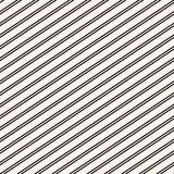Diagonal stripes seamless pattern. Simple vector black and white lines texture. Diagonal stripes seamless pattern. Simple black and white slanted lines texture vector illustration