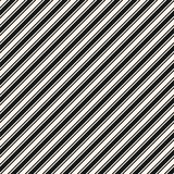 Diagonal stripes seamless pattern. Vector thin and thick slanted lines. Diagonal stripes seamless pattern. Simple vector slanted lines texture, 45 degrees Royalty Free Stock Photography