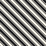 Diagonal stripes seamless pattern. Vector thin and thick slanted lines. Diagonal stripes seamless pattern. Simple vector slanted lines texture. Modern abstract Royalty Free Stock Photos