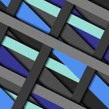 Diagonal strips pattern. Stock Images