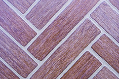 Diagonal surface tiles. Stock Image