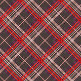 Diagonal tartan seamless texture mainly in muted colors Royalty Free Stock Image